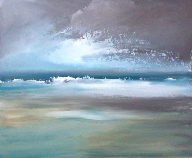 gillian-crossley-holland-sea-study-scolt-head-august-afternoon-after-rain