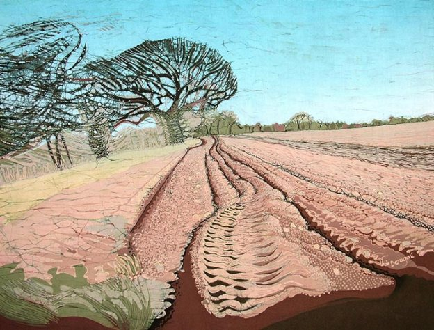 helen-dougall-tractor-tracks-batik-on-cotton-84x64cm