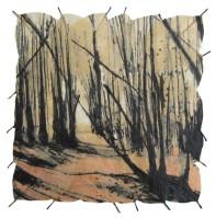 janet-french-november-walk-iv-screenprint-on-beech-leaves-40x38cm