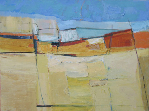 Mike Holtom, Sole Bay 68, oil on canvas