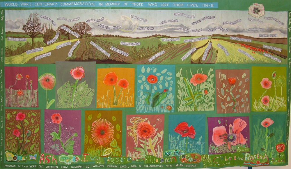 helen-dougall-ww1-textile-wallhanging-walsham-le-willows-school