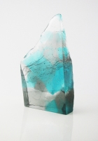 fiona-fawcett-sea-cliff-cast-glass-2017