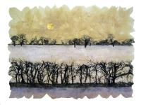 janet-french-winter-field-screenprint-on-handmade-field-maple-leaf-paper-28x38cm