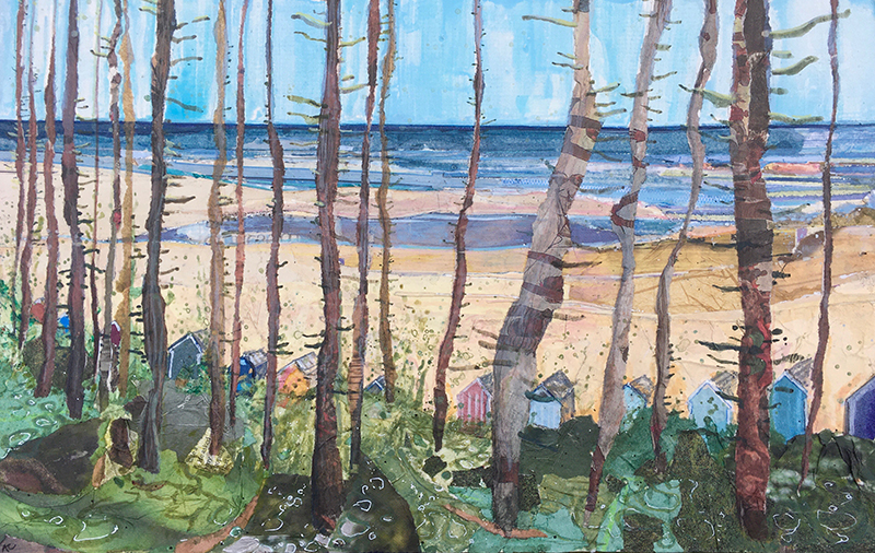alfie-carpenter-summer-through-the-trees-painting-2020